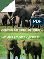Ser Como Elefantes