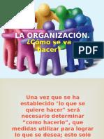 la organizacion 1