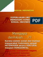 Sistem Sosial Indonesia