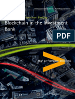 Accenture Blockchain in the Investment Bank