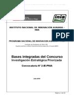Bases Integradas Investigacion Estrategica