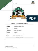 Tipos de Bombas- Oleoductos y Poliductos.