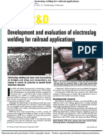 Development and Evaluation of Electroslag Welding for Railroad Applications_2