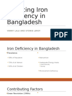 reducing iron deficiency in bangladesh
