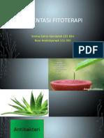 Daya Hambat Ekstrak Kulit Daun Lidah Buaya (Aloe Barbadensis Miller) Terhadap Pertumbuhan Bakteri Staphylococcus Aureus ATCC 25923 Dan Escherichia Coli ATCC 25922