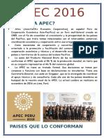 APEC 2016