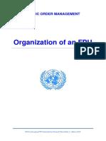 Organization of an FPU