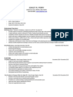 ashley perry practicum resume 11 28 16