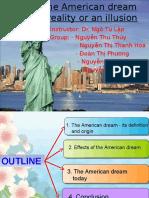 American Dream Presentation (Tong Hop)