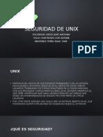 Seguridad de Unix