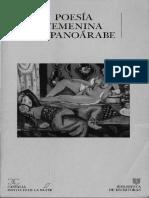 Seleccion Poesia Femenina Hispanoarabe