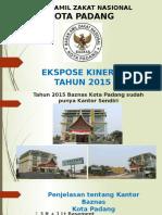 Presentasi Zakat Award Padang