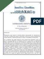 04.- Cosmogonía Gnóstica - Tau Johannes