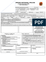 NEW PNP ID FORM
