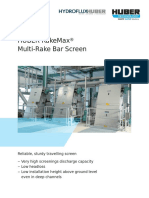 HUBER RakeMax Multi Rake Bar Screen Hydroflux Australia Brochure