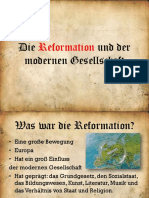Die Reformation und der modernen Gesellschaft