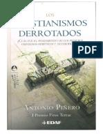 Los Cristianismos Derrotados - Antonio Pinero