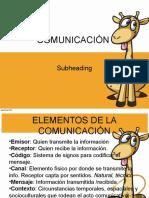4° CLASE_COMUNICACIÓN Y FUNCIONES