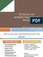 Técnicas de administración de RRHH, clase 2 (1) final