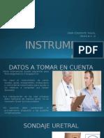 Instrumentación Urologica
