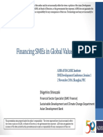 Financing SMEs in Global Value Chains