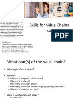 Skills for Value Chains — Models for SMEs