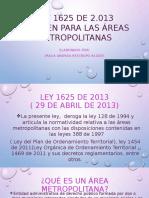 LEY 1625 DE 2013
