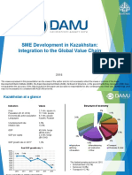 SME Development in Kazakhstan Integration to the Global Value Chain
