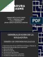 Soldadura API ASME