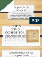 Chopin- Estilo Musical