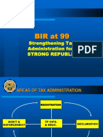 BIR at 99