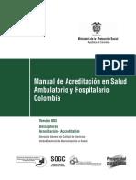 Manual Acreditacion Salud Ambulatorio Hospitalario