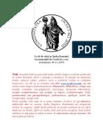 Listă de Cărți În Limba Română 26-111-2016 (Ocult-Ro)