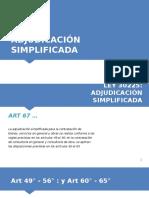 Adjudicacion Simplificada 67 68