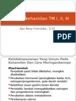 Masalah Kehamilan TM I, II, III