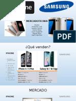 iPhone y Samsung
