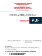 DROGAS ANTICOLINERGICAS