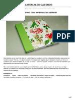 Reinoartesanal.blogspot.com.Ar-cuaderno Con Materiales Caseros
