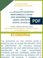 Presentacion_Conceptos Basicos DeE Conomia_Grupo 10