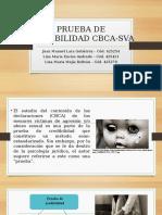 Prueba de Credibilidad CBCA-SVA. Análisis de contenido basado en criterios