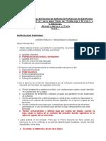 Examen Para Optener Titulo Profesional de Pnp