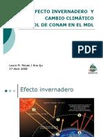 EfectoInvernadero&CambioClimatico Reyes&Iju