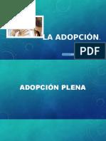 La Adopcion - (Exposicion)