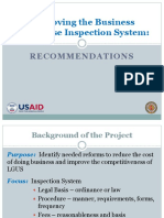 Business Inspection System_USAID