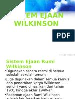 Sistem Ejaan Wilkinson