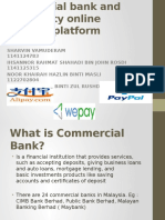 Group 4 Commercial Bank and Third-party Online Payment Platform