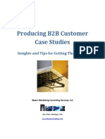 Producing B2B Customer Case Studies IBeam Marketing
