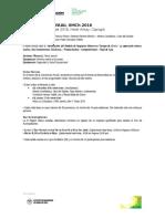 Programa 67 Convención Anual Iimch