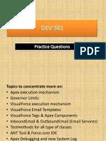 DEV 501 Practice Questions