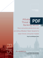 Alibaba and the Threat to China's Banking Sector